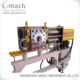 Continuous polymer melt filter -automatic self cleaning backflush screen changer
