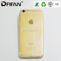 china supplier mobile back cover for iphone 6 meteor shower flash case for iphone 6 bling glitter case for iphone 6