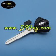 Cheap key blanks motorcycle for Suzuki motorcycle key with YH35R blade key shell