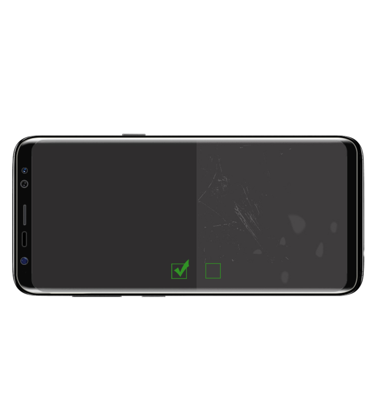 Transparent Full Glue PET Screen Protector For Samsung S8 S9 Note 8