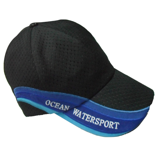 wholesale distressed mesh baseball hat Custom ocean water sports mesh caps hats