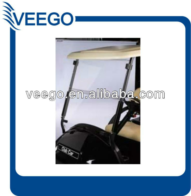 WINDSHIELD for CLUB CAR PRECEDENT GOLF CART Portable Vinyl Dust Wind Block Sun Bug Shield
