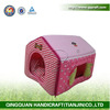 QQPET 2014 QingQuan simple plush / cool pet house pass SGS Test