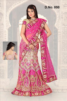 Designer Hand Beaded Lehenga Channiya Ghagra Choli India R5045