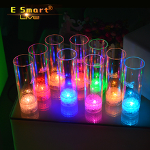 LED Champagne Glass Wineglass Glowing Cup for party