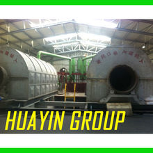 High Quality Oil Recycle Plastic to Oil Huayin Technology