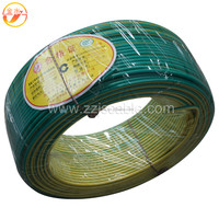green aluminium flexible energy wire/electrical wire wires