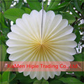 wholesale white Tissue Paper Rosettes Hanging Fan Wedding Decor