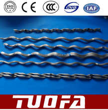 galvanized steel wire aluminum cable terminal helix wire clamp