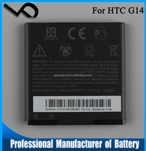 3.7V 1520mAh BG58100 G14 cell phone battery manufacturer for HTC G14 X315E Z710 replacement battery