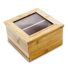 customized bamboo wooden tea chest boxes tea storage container