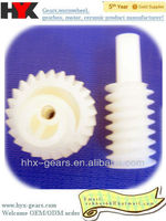 plastic worm and worm gear