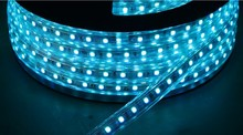 China flexible led strip double-line 144led/M high voltage 4000k led strip 5050 220v 50m/Roll packaging for led strip