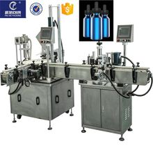 10ml Automatic liquid vial bottle filling machine capping machine with unscrambler