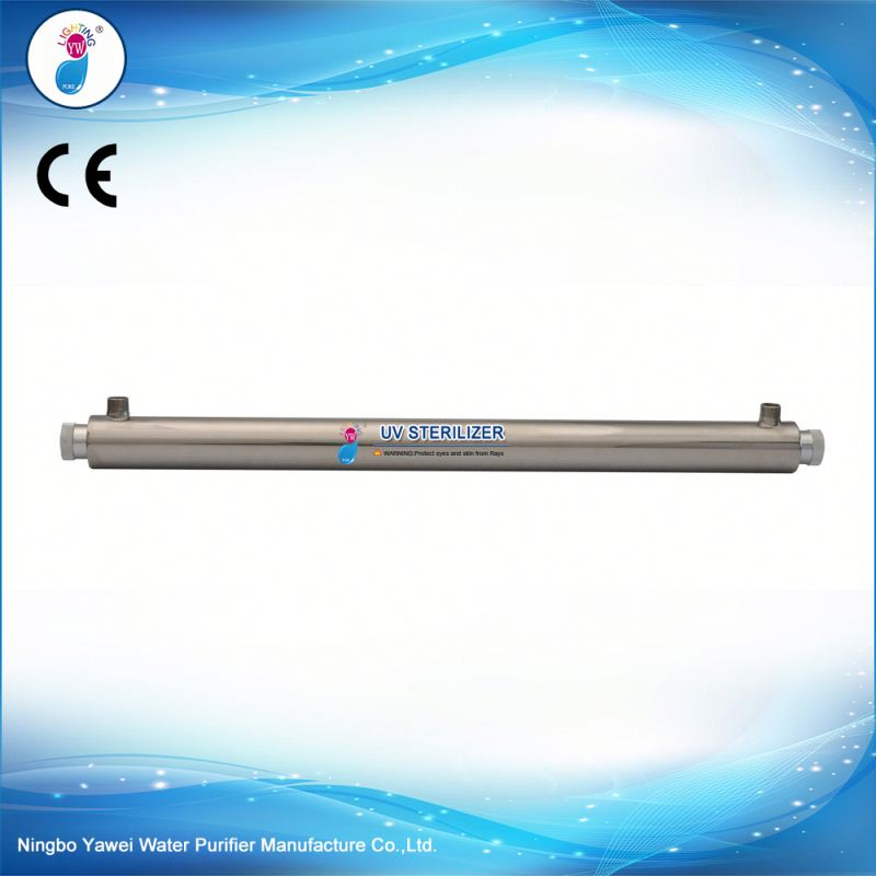 30w 8gpm home drinking water filter uv sterilisation