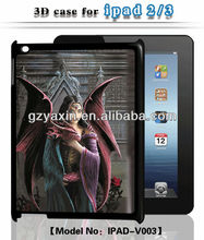 New arrival fancy custom case for ipad 3 cover for ipad 3,explosion proof case for ipad