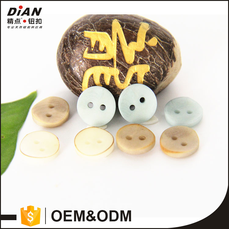 DIAN Natural buttons Corozo button metal buttons wholesale 18L for shirt
