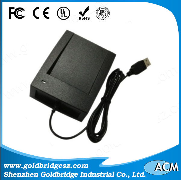 Hot USB desktop 125Khz Reader MF1 13.56Mhz Optional mobile usb rfid reader