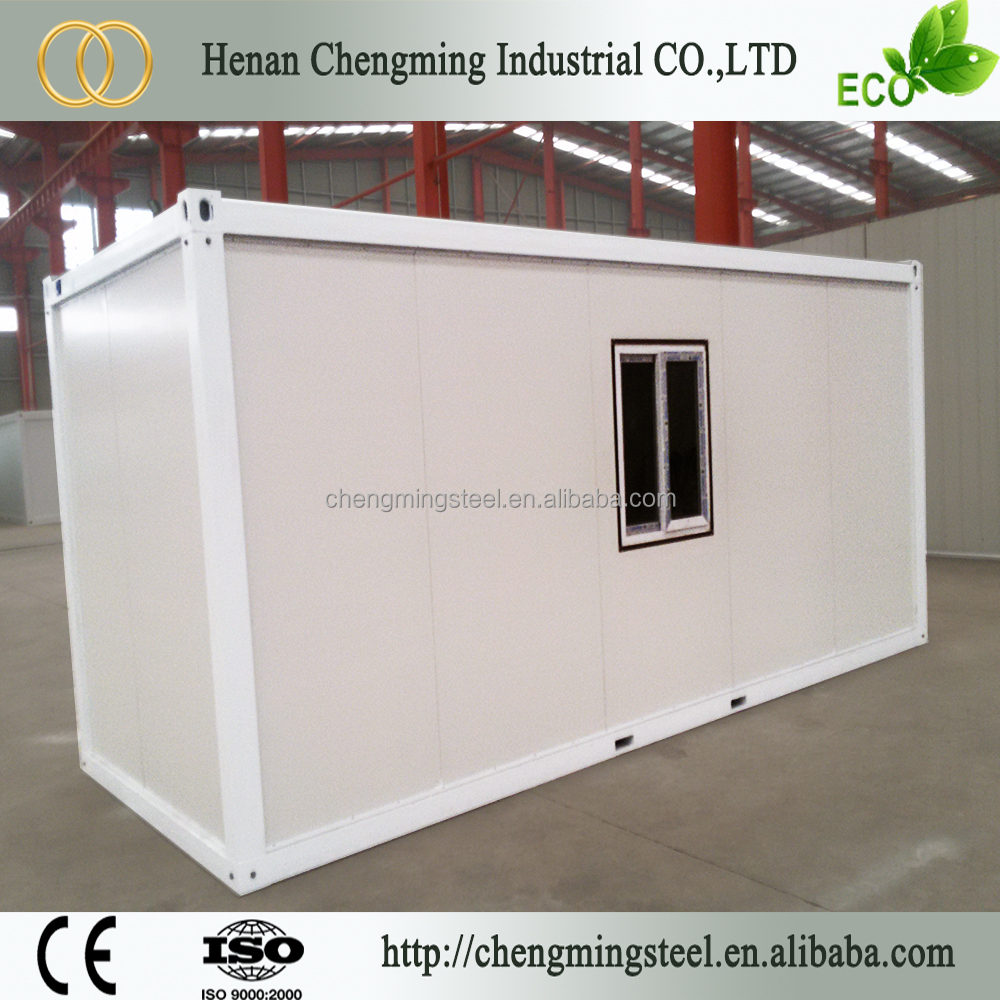 High Quality Rainproof Modern Sandwich Panel 20Ft Wood Cladding Container Homes Manufacturer