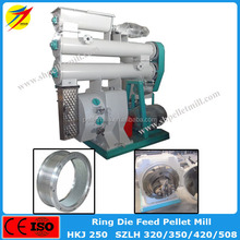 Electric engine cattle sheep goat food pellet making machine equipment