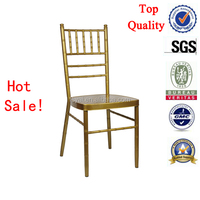 high quality gold steel fancy wholesale chiavari chairs for wedding and events