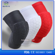 Basketball Strengthen Kneepad Honeycomb Pad Crashproof Antislip Leg Knee Protective Pad