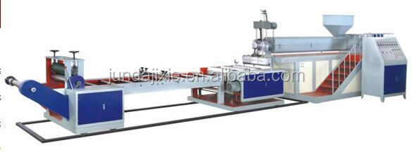 Hydraulic die head plastic sheet extruder machine for PP/PS plastic film