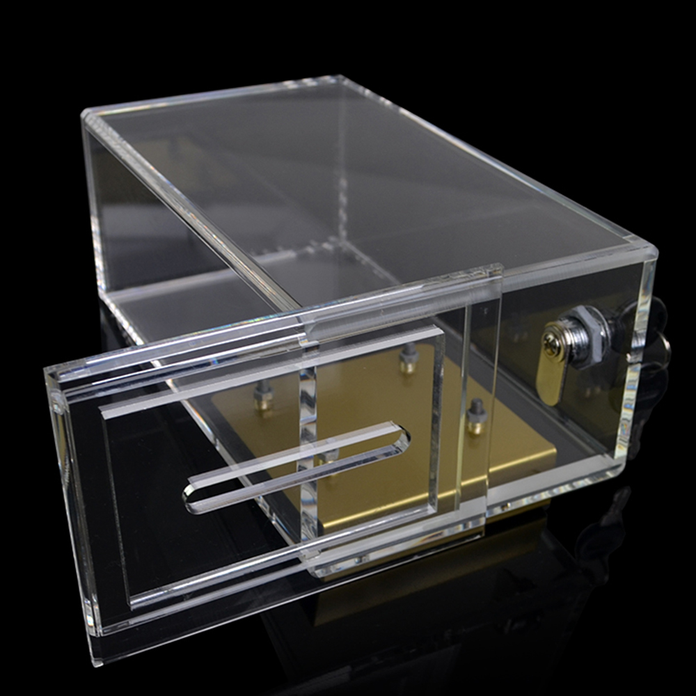 Casino Quality Acrylic Toke Drop Box with J hook