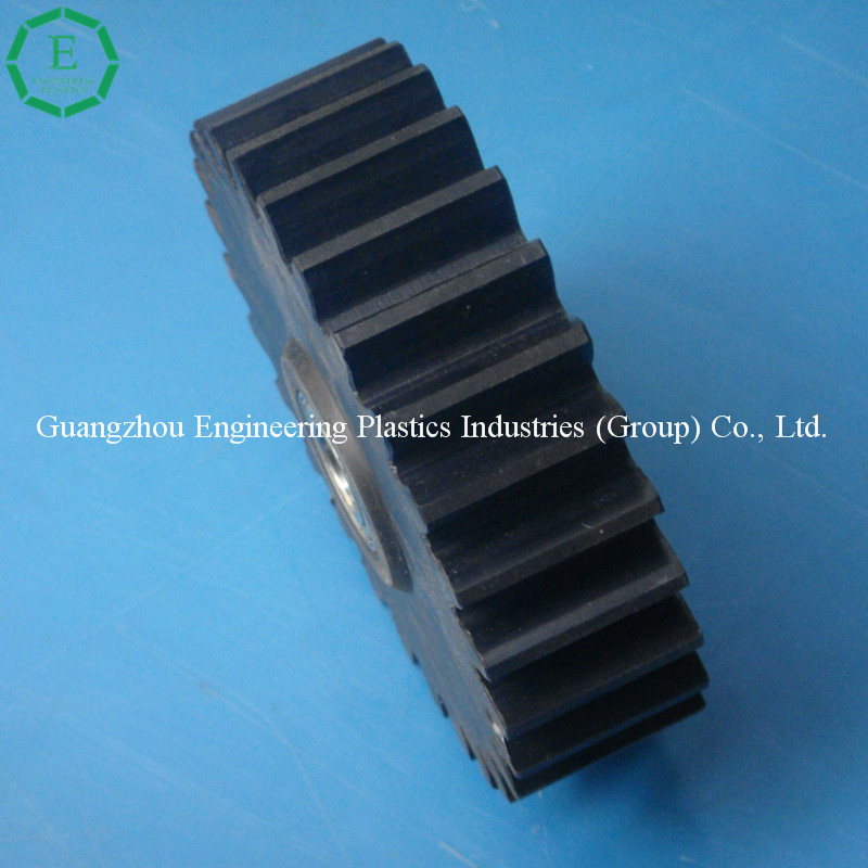 Very high-impact resistance machined pom gear plastic gear acetal spur gear
