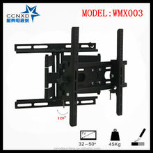 120 degrees swivel lcd tv bracket with great design