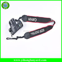 factory competitive price fabric promotional camera strap
