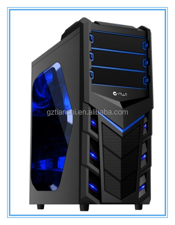 2014 best selling transparent side panel cheap atx computer case, atx computer cabinet, pc case