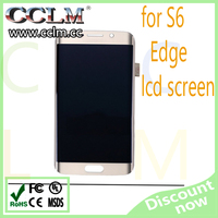 cheapest price lcd for samsung s6 edge, lcd mobile phone for samsung galaxy s6 edge g9250 clone lcd