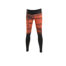Dye Sublimation Printing Colorful Quick Dry Running Pants