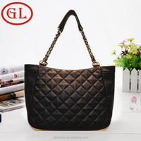 2015 fashion leather handbag women Korean design shoulder bag lady leather chain bag