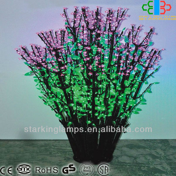 1.8M colorful LED branch flower lights/cherry blossom tree lights