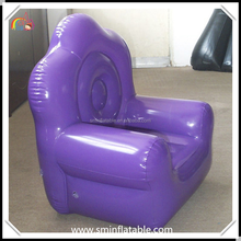 Creative ornament inflatable sofa furniture, durable comfortable pvc air sofa for promotion outdoor event