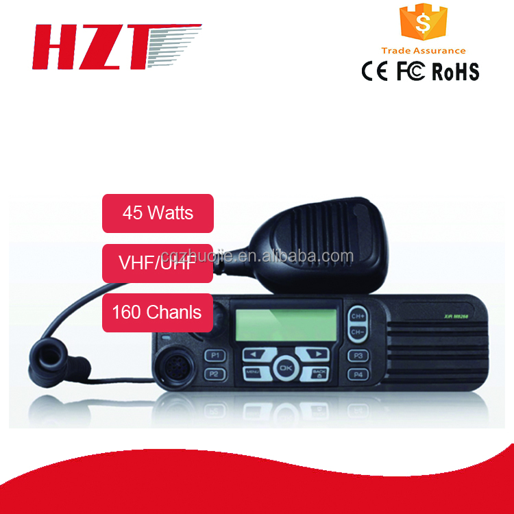 Car Mobile radio transceiver dual bands 45Watts DMR Two Way Radio 50km M8260