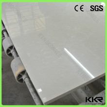 glacier white artificial marble quartz stone sheets