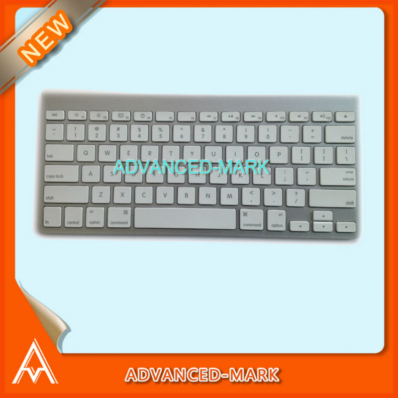 New ! Wireless Bluetooth US Layout Keyboard For iMAC MC184LL/A Desktop Model No : A1314 White Color