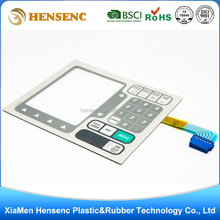 OEM Professional Customized High Quality Embossing membrane switch keypad with poly dome tactile