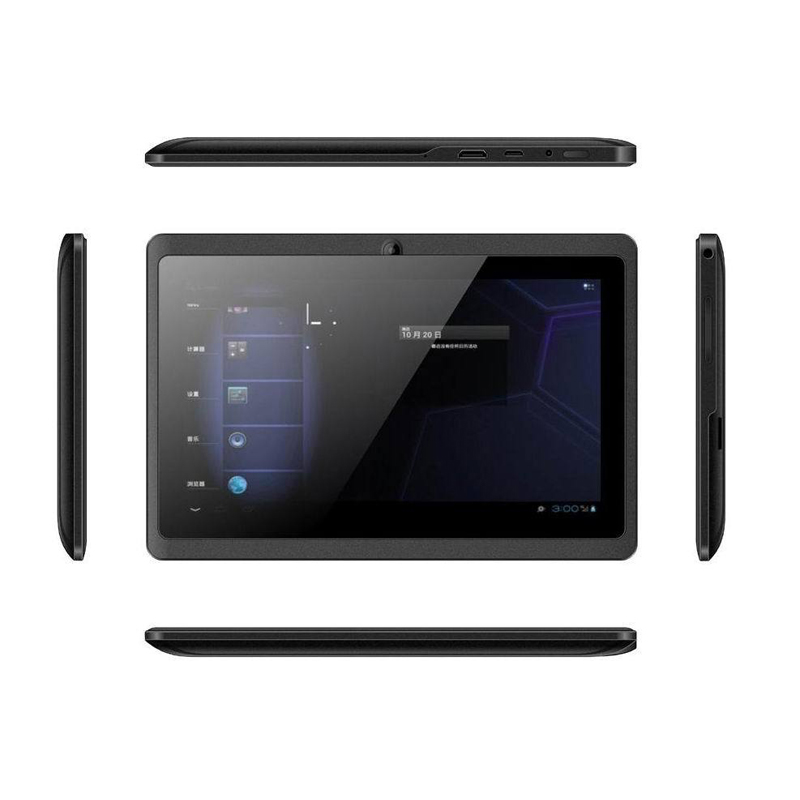 "Black Color For Android 4.4 Dual Core For Google With GPS WIFI with Phone Bluetooth SIM 7"" Tablet PC"