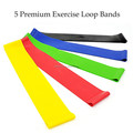 Custom Physical Fitness Circles Loop Resistance Band For Yoga Exercise