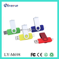 For mobile phone used 1 dollar otg usb flash drive