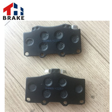 China wholesaler car accessories spare parts brake pad for toyota