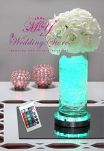 Wedding Event Decoration 6inch Under Vase LED Light