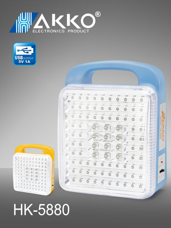 rechargeable more bright SMD Emergency Light for home use