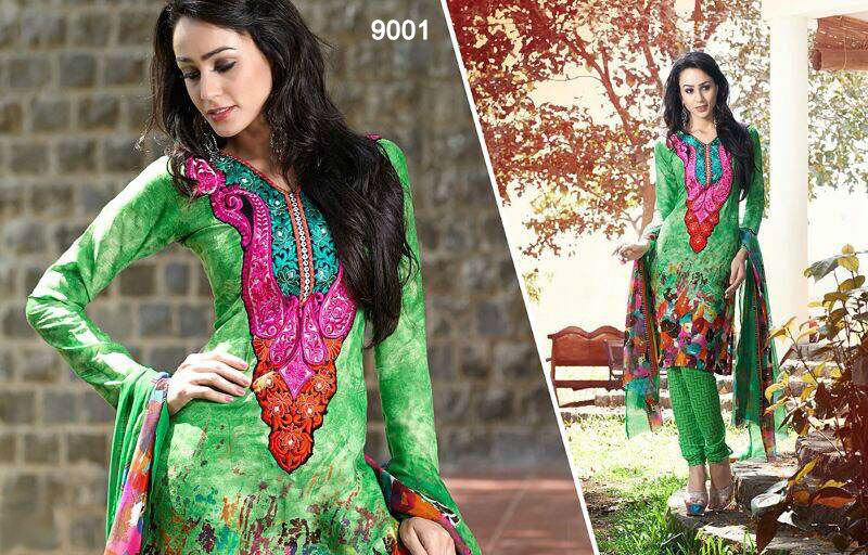 Neck designs for cotton salwar kameez ladies suit for wholesale