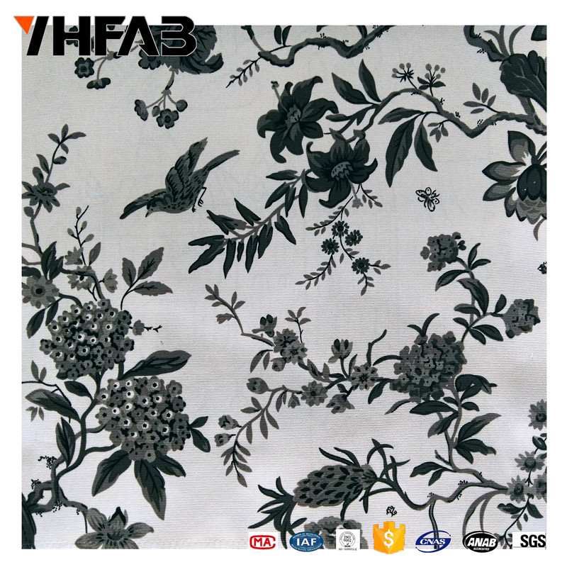 100% polyester printed fabric sofa cover fabric for upholstery