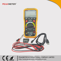 USB Interface / Bargraph 6000 Counts True RMS Professional Manual And Automotive Multimeter Specifications